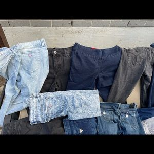 Guess jeans bundle! Over 16 pairs of jeans